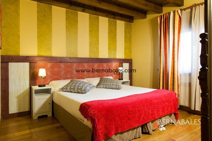 Habitaciones dobles con cama de matrimonio